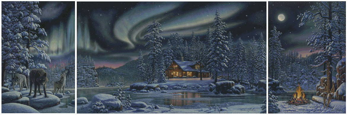 Зимний триптих