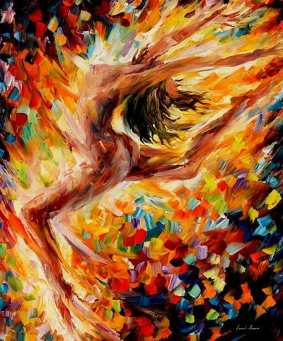 Схема вышивка танец любви