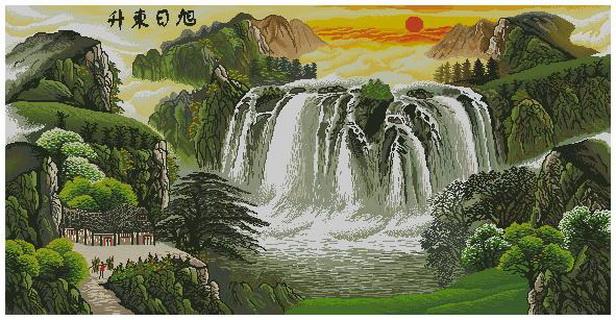 Вышивка крестом схемы скачать без регистрации водопады