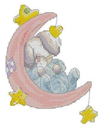 Зайка на луне