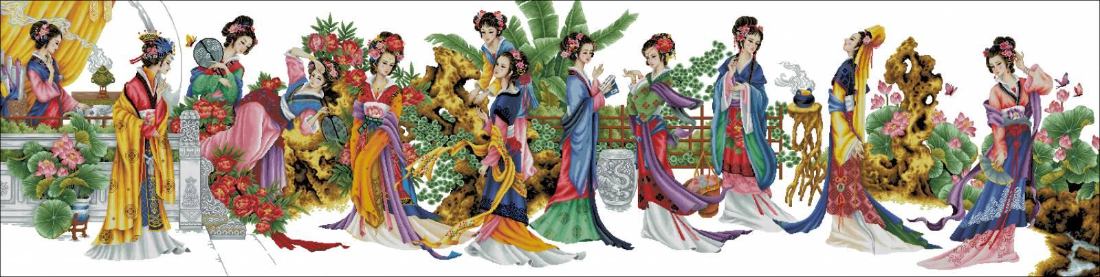Китайская вышивка что это