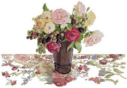 Розы и ежевика