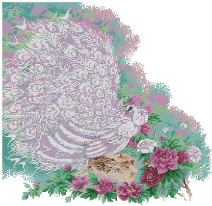 Вышивка сады махарадже